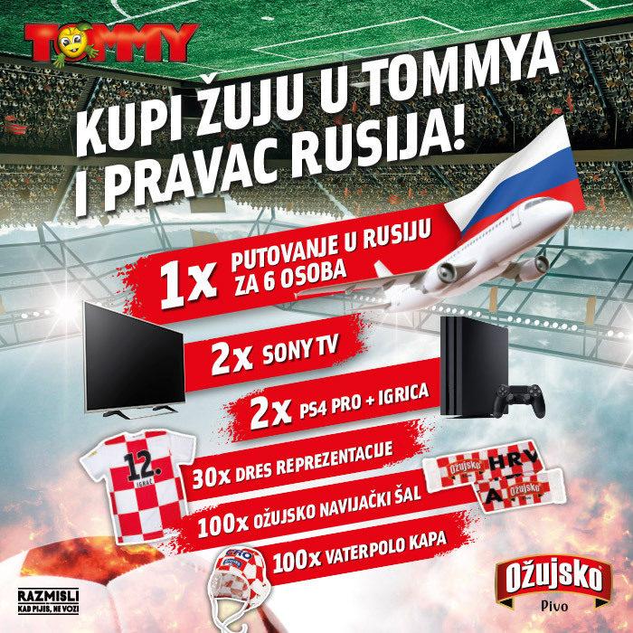 Žuja i Tommy vode te u Rusiju!