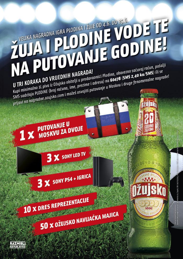 Žuja i Plodine vode te u Rusiju!