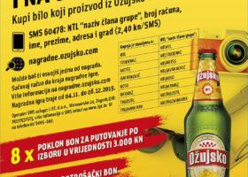 U NTL-u Ožujsko kupuj i na odmor otputuj!