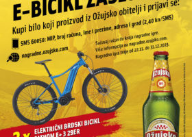 Tko Žuju kupuje, e-bicikl zaslužuje!