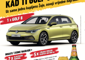 Nema do Žuje, kad ti Golf 8 daruje!